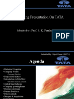 A Marketing Presentation on TATA