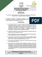 Decreto Plan de Adquisiciones 2014