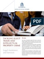Trafficking in Illicit Goods - Legal Assistance