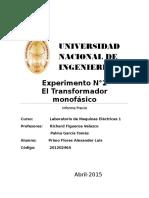 Informe P 2 Lab