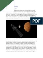 Calendario espacial 2016