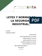 Leyes y Normas de La Seguridad Industrial