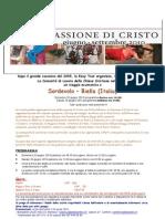 EasyTours Programma Gita a Biella Per La Passione 2010
