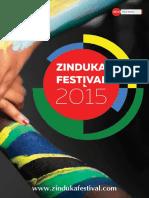 Zinduka Festival 2015 Programme