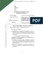 Memorandum of Court Violations of F.R.Civ.P. Rule 16 and Affidavit of Roy Warden