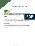Extensões Do Google Chrome Úteis Para Seu Blog