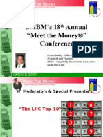 Hospitality Lawyer on Hotel Industry Sentiment - LIIC TOP 10 from JMBM's Meet the Money 2008
