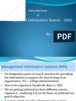 Mgmt Inform Sys