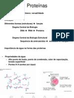 Biologia - Aula III - Proteínas