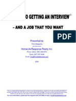 14 steps to getting a job interview eBook