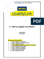3 - How to Register My Site(s)