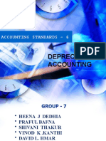 Accounting Standards - 6(DEPRECIATION ACCOUNTING)