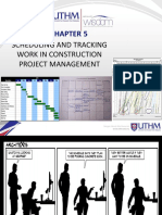 Chapter 5 Scheduling Tracking Work