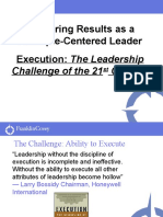 Covey Leadership Challenge
