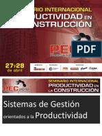 PEC Productividad en La Construcción
