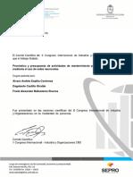Artículo II Congreso Internacional Logística. Pronóstico y Presupuesto