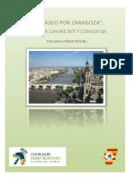 Un Paseo Por Zaragoza. Codigos y Panel