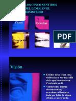 Cinco Sentidos Del Lider-VISION