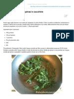 Insalata farro-spinaci-zucchine