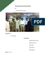 Management UBL Report