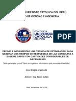 Proyecto de Tesis Técnica Optimización BD Jose Alegre (dic. 2014)