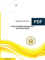 Food Hygiene Throughout the Food Chain