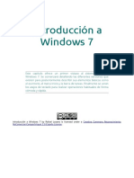 Introducción a Windows 7