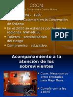 CCCM  campaña colombiana contra minas