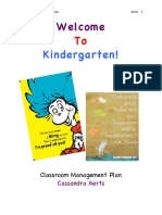 Cassie's Classroom Management Plan