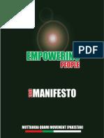 MQM Manifesto 2013