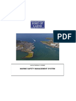Marine Safety Management System
