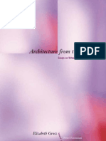 Architecture From the Outside - Essays on Virtual and Real Space
