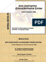 Sons Alternativos Na Educação Musical
