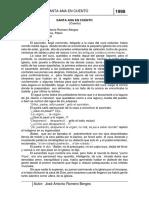 Cuento de Santa Ana Primera Versión 1998-2014