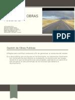 Gestion de Obras Publicas civil expo