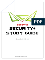 Cybrary Security Plus Study Guide