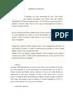 Información Sobre Quesos Nacionales.