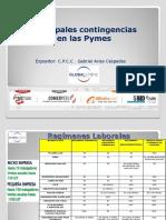 Principales Contingencias Pymes
