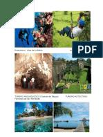 Turismo en Honduras y Centroamerica