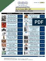 Lista de Precios Abril IPL