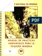 Manual de Practicas Ambientales Para La Pequeña Mineria