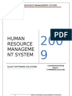 Human Resource Management Systems HRMS
