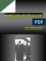 Desafios Da Neurologia No Século XXI - Acad. Gerson Canedo