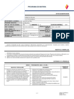 Programa de Ingenieria de Sistemas y Procesos