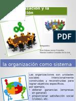 La Organizacion y La Capacitacion
