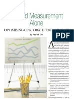 Beyond Measurement Alone - Optimising Corporate Performance
