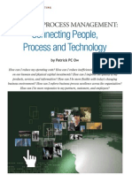 Business Process Management - Connecting People, Process and Technology