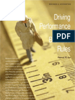 Driving Performance With Business Rules
