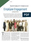 Increase Profitability Through Employee Engagement