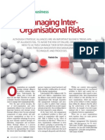 Managing Inter-Organisational Risks